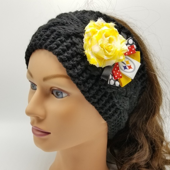 PITTSBURGH STEELERS HEADBAND NFL HEADBAND FOOTBALL 8f0d96bd5
